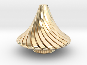 Exotic antique Lamp  in 14K Yellow Gold