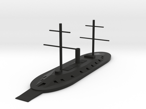 1/600 USS Dunderberg in Black Natural Versatile Plastic