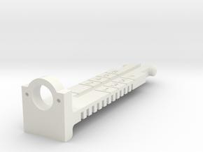 AK Ghost Ring in White Natural Versatile Plastic