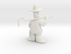 Old MacDonald Farmer in White Natural Versatile Plastic