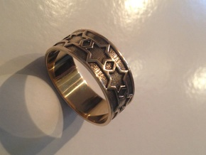 Nola Ring Size 14 in 14k Gold Plated Brass