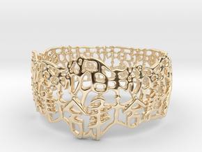 PAN Bracelet D64 RE115s1A10m25M45FR007-plastic in 14K Yellow Gold