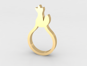 BEAU Ring in 14K Yellow Gold