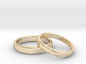 Rings Wedding in 14K Gold