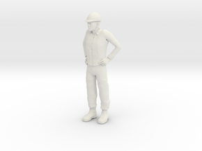 Foreman 1/20 scale in White Strong & Flexible