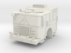 1/87-fdny-KME-cab-hollow (repaired) in White Natural Versatile Plastic