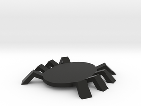 Spidey token in Black Natural Versatile Plastic
