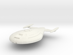 USS Fleming in White Natural Versatile Plastic