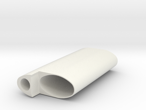 Cigarette and Lighter Holder in White Strong & Flexible