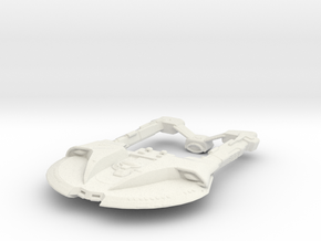 Steam Runner Class in White Natural Versatile Plastic