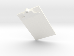 Clip Board in White Strong & Flexible Polished