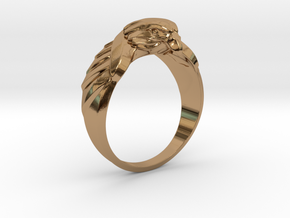 Eagle Ring 19mm in Polished Brass