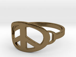 My Awesome Ring Design Ring Size 8 in Polished Bronze