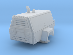 1/64 Towable Air Compressor in Smooth Fine Detail Plastic