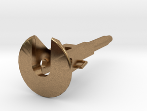Coupler For D29 Pockets 1:34 in Natural Brass