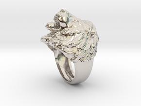 Lion Ring in Platinum: 11.5 / 65.25