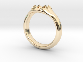 Scalloped Ring (size 5.5) in 14K Yellow Gold