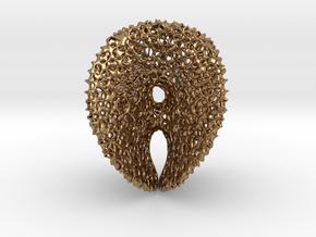 Chen-GackstatterMinimal Surface with Voronoi Cells in Natural Brass