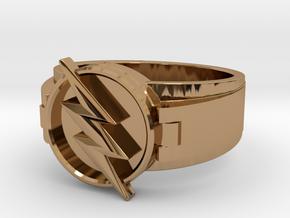 V2 Reverse Flash Size 11.5 21.08mm in Polished Brass