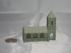 Church (Textured)  in Full Color Sandstone