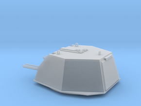 1:16 scale model of DShKM-2BU turret for Soviet WW in Smooth Fine Detail Plastic