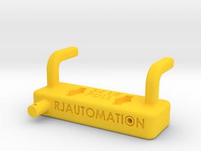 BigBracket_120222 in Yellow Processed Versatile Plastic