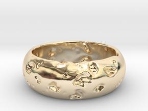 NEREUS Bracelet in 14k Gold Plated Brass