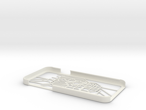 Tokyo Metro map iPhone 6 case in White Strong & Flexible