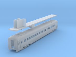 D&H lightweight coach #201 - 206, as built (1/160) in Frosted Ultra Detail