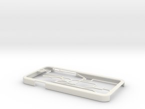 Hong Kong MTR map iPhone 6 case in White Natural Versatile Plastic