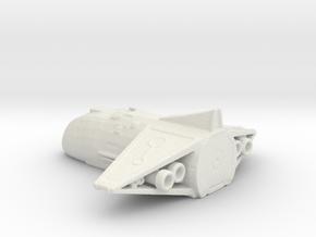 Ancient Shuttle in White Natural Versatile Plastic
