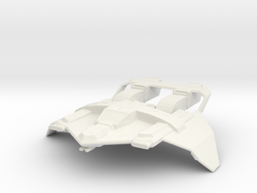 Maquis - Tactical-Fighter in White Natural Versatile Plastic