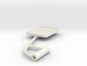 Unimog U401 Spiegel Links 1:10 in White Natural Versatile Plastic