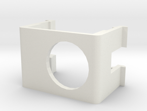 GoPro Tarot Clip - No Shade in White Natural Versatile Plastic