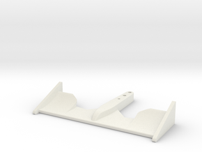 RC F1 Wing v1 in White Natural Versatile Plastic
