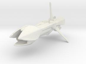 8472 Bio-Ship in White Natural Versatile Plastic