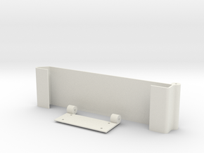 Ipad Under Cupboard Mount in White Natural Versatile Plastic