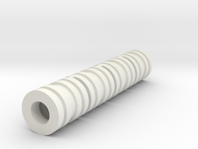 KJW KC-02 Barrel Spacer 4 Pack (V2) in White Natural Versatile Plastic