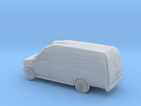 1/87 1997-02 Ford F250 Econoline Camper Van in Smooth Fine Detail Plastic