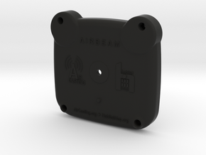 AirBeam Bottom in Black Natural Versatile Plastic