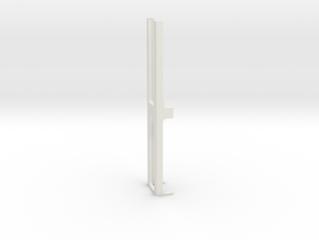 3mm Thick 1cm  Cell 2D-3D Magnet Holder A  QuA 64  in White Natural Versatile Plastic