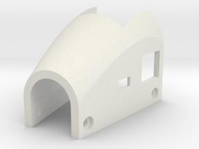 mini-MUTT Motor Mount Cover in White Natural Versatile Plastic