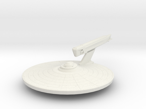 Uss Eagle in White Natural Versatile Plastic