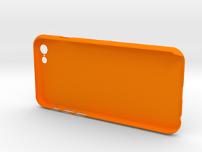 Simple 3 walls iPhone6 case for 4.7inch in Orange Processed Versatile Plastic