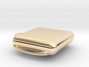 Apple Watch Case Replica in 14k Gold Plated Brass