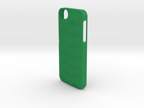 Crocodile Scale iPhone 5/5s Case in Green Processed Versatile Plastic