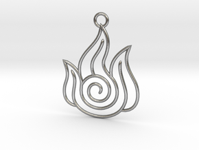 Avatar the Last Airbender: Fire in Natural Silver