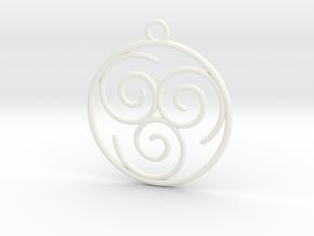 Avatar the Last Airbender: Air in White Processed Versatile Plastic