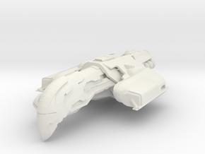 Assault Carrier in White Strong & Flexible