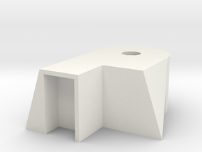 Bunker 2 in White Natural Versatile Plastic